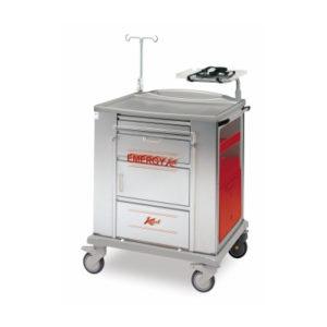 SHS – K816220 – CARRELLO EMERGYKAR IN ACCIAIO INOX