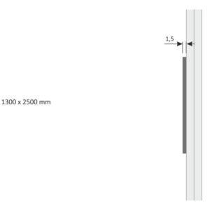 SHS – SH.25.1300 – Piastre