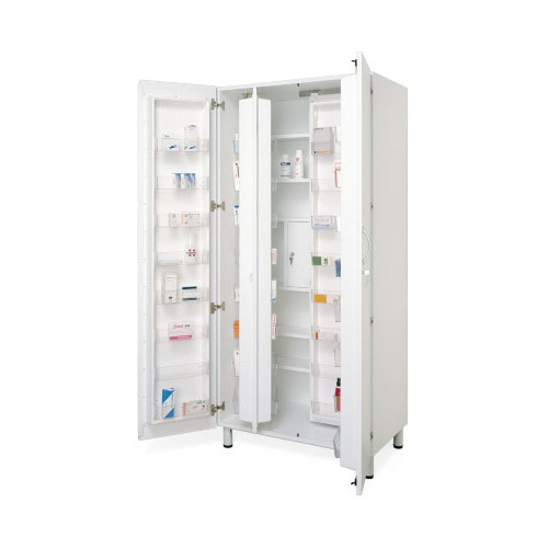 Armadio Farmaci Con Tesoretto.Shs K606021 Armadio Farmacia A 60 Vani Con Tesoretto