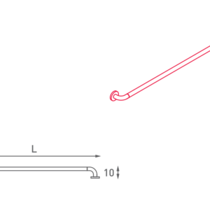 SHS – N32.010-017 – Maniglione Di Sicurezza Lineare