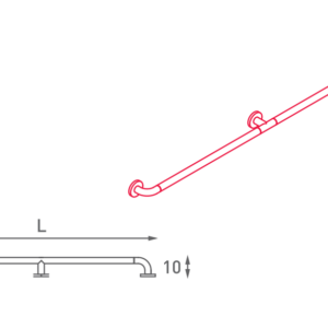 SHS – N32.020 – Maniglione Diritto
